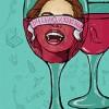 Пила вино и хохотала