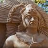 Фестиваль песчаных скульптур — 2019 «Затерянные миры»