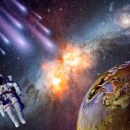 Выставка  «Космос в массы» фотографии