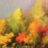 Выставка живописи Дмитрия Яковина «Осень» фотографии