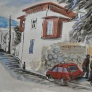 Выставка «Линии и пятна. Печатная и традиционная графика» фотографии