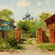 Выставка Ольги Ивлевой в Арт-галерее «Мольберт» фотографии