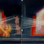 Выставка «Праздничное оформление Петрограда—Ленинграда 1918-1987» фотографии