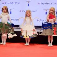 Выставка «ArtExpoSPb» 2017 фотографии
