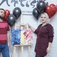 Мастер-класс «Картина за три часа» в Санкт-Петербурге фотографии