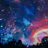 Концерт «Классика в темноте: Космический Петербург» фотографии