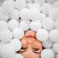 Новое развлечение Сухой бассейн шариков фотографии