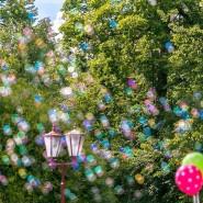 Фестиваль мыльных пузырей в парке Сказок фотографии
