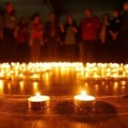 Народная акция памяти «Свеча на аллее Славы» январь 2017 фотографии