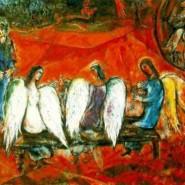 Выставка  работ Марка Шагала «La Bible» фотографии