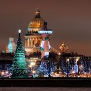 Новогодние праздники в Санкт-Петербурге 2018 фотографии