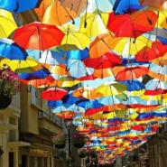 Аллея парящих зонтиков 2017 фотографии