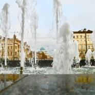 Открытие сезона фонтанов в Санкт-Петербурге 2021 фотографии