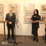 Выставка «Рисуя блокаду. Дневник архитектора Я. О. Рубанчика. 1941–1945» фотографии