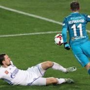 Футбольный матч команды «Зенит» фотографии