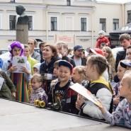 Театрализованный праздник «Книжный ТРОЛЛЕЙбус» фотографии