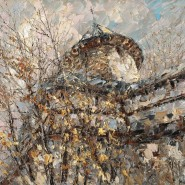 Выставка живописи Дмитрия Кустановича фотографии