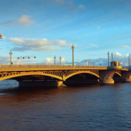Благовещенский мост фотографии