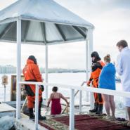 Праздник Крещения в Санкт-Петербурге 2021 фотографии