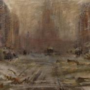Выставка «Василий Калужнин. Жил-был наЛитейном художник» фотографии