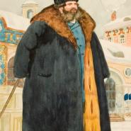 Выставка «Русь купеческая Бориса Кустодиева». фотографии