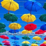 Фестиваль «Аллея парящих зонтиков» 2016 фотографии