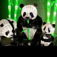 Выставка световых фигур «Планета света» фотографии