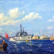 Выставка «Морские парады в Петербурге: страницы истории» фотографии