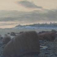 Выставка художника Олега Юнтунена «Острова» фотографии
