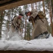 Военно-историческая реконструкции событий Зимней войны «Подвиг Виктора Булавского» фотографии