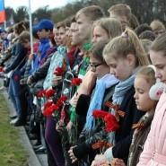 Памятная акция в Кировском районе фотографии