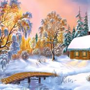 Выставка  «Зимний вернисаж» фотографии