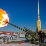 Полуденный выстрел в Петропавловской крепости фотографии