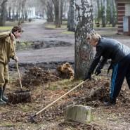 Арт-субботник в Михайловском саду 2017 фотографии