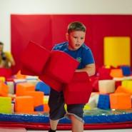 Набор детей в Гимнастический центр Baby Gym фотографии
