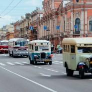 Парад современных и ретро авто в Санкт-Петербурге 2017 фотографии