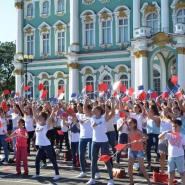 День Государственного флага России в Санкт-Петербурге 2018 фотографии