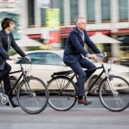 Акция «На работу на велосипеде» фотографии