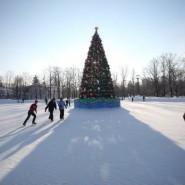 Открытие большого бесплатного катка в парке С. Кирова 2021 фотографии