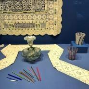 Выставка «Фантазии в нитях. Кружево и стекло Западной Европы XVI-XIX веков» фотографии