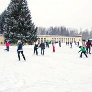 Открытие катка в музее-заповеднике Павловск 2021 фотографии