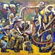 Выставка  «Александр Альховский. Городские химеры». фотографии