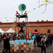 Праздник  «Широкая Масленица»  в Петропавловской крепости 2017 фотографии