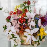 Выставка «Диалог цветов» фотографии