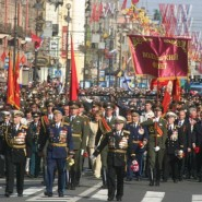 День Победы в Петродворцовом районе 2016 фотографии