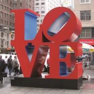 Выставка «Роберт Индиана. К 50-летию LOVE» фотографии