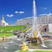 В Петергоф на метеоре и Нижний парк без очередей осенью 2021 фотографии