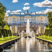 Открытие сезона фонтанов Петергофа 2021 фотографии