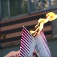 Эстафета огня Всемирной зимней универсиады-2019 фотографии