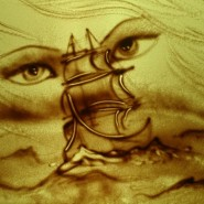 «Песочное шоу» в Планетарии фотографии